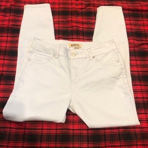 Blue spice size 9 stretch whitewash jeans
